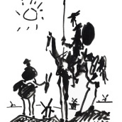 Picasso - Don Quijote.